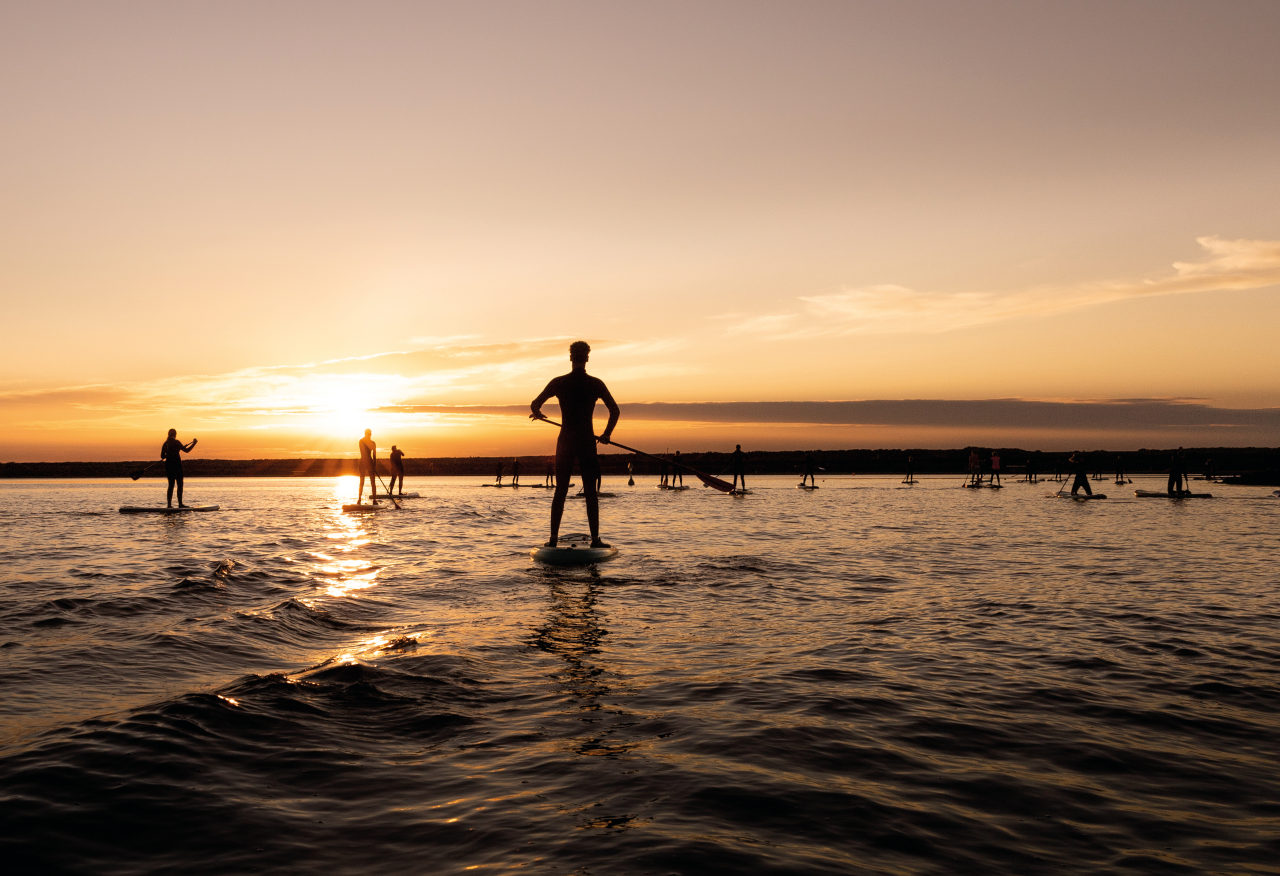 sunset sup tour
